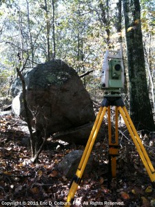 Foster Survey Company Leica TPS1200 Robotic Total Station Surveying System
