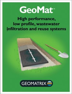 Foster Survey Company is Trained to Design GeoMat Leaching Septic Systems